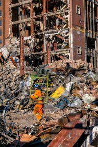 épület bontás