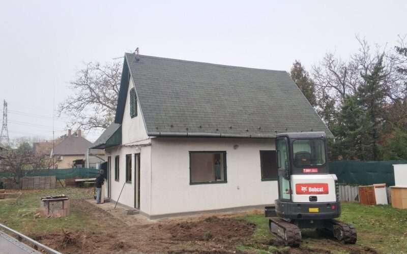 ház bontása