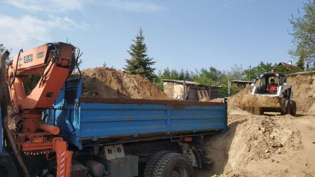 betonozás